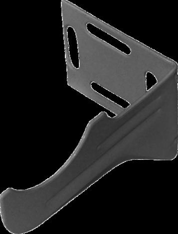 Конзола за радиатор ъглова, дясна