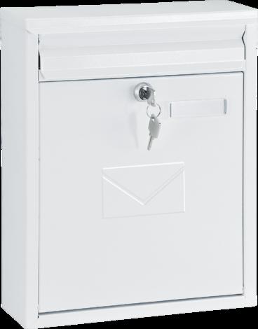 Пощенска кутия COMO бяла