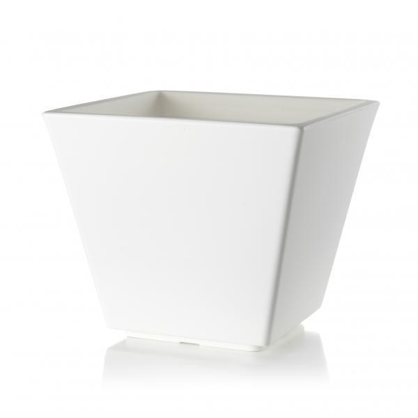 Кашпа AVILA 40(25)см, цвят: бял