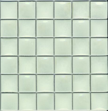 Glamour фаянс Pearl бял 5x5