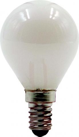 LED филамент мат балонче 4W E14 4000K
