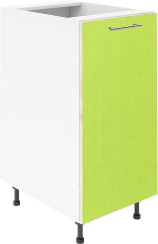 Крафт D1 долен шкаф с една врата 55см, зелен гланц