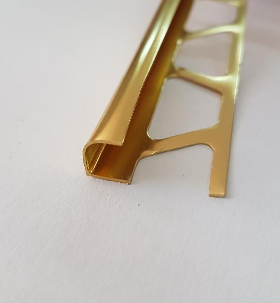 Лайсна ъглова 10мм Злато полиран