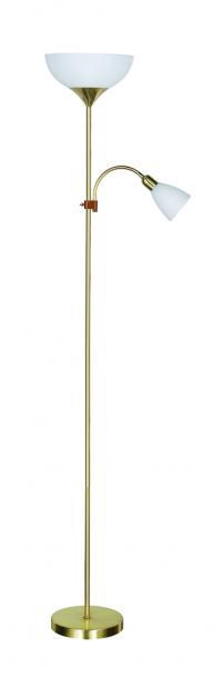 Лампион ARTEMIS II мат. злато 1xE27+1xE14 H178cm