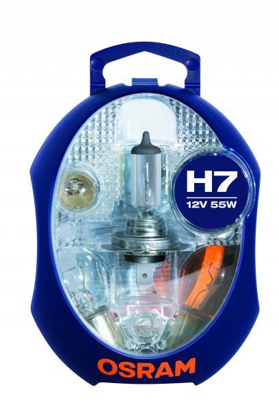 Резервен комплект H7 Osram 12V