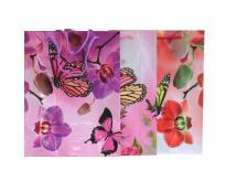 Плик за подаръци Цветя 23х30х8 см