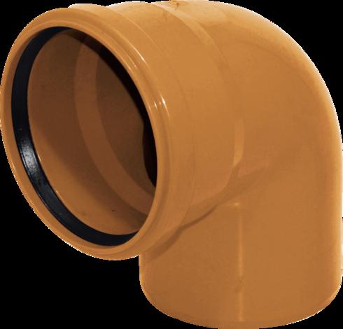 PVC Коляно (дъга) 110x87°