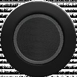 Решетка кръгла Ф125 черна