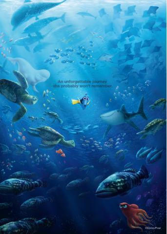 Постер за стена Dory 15 59x84 см