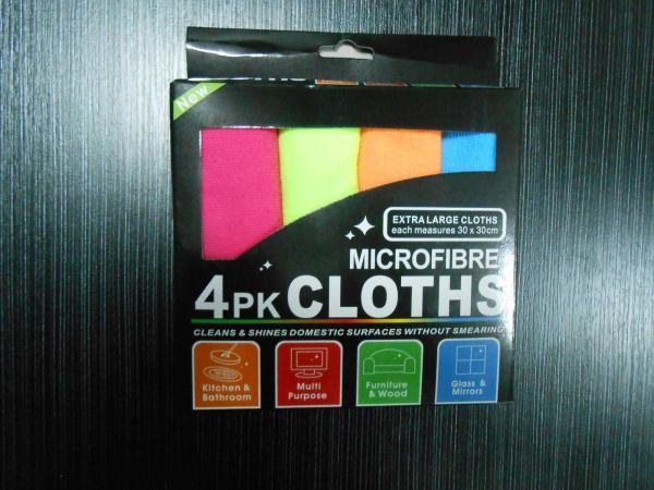 Kомплект микрофибърни кърпи 4 бр