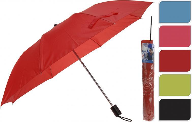 Чадър FOLDING 21 INCH 5 цвята
