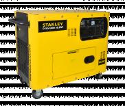 Дизелов генератор Stanley D-SG 6000 6.3kW трифазен
