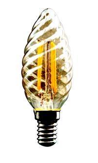 LED винтидж крушка свещ 4W