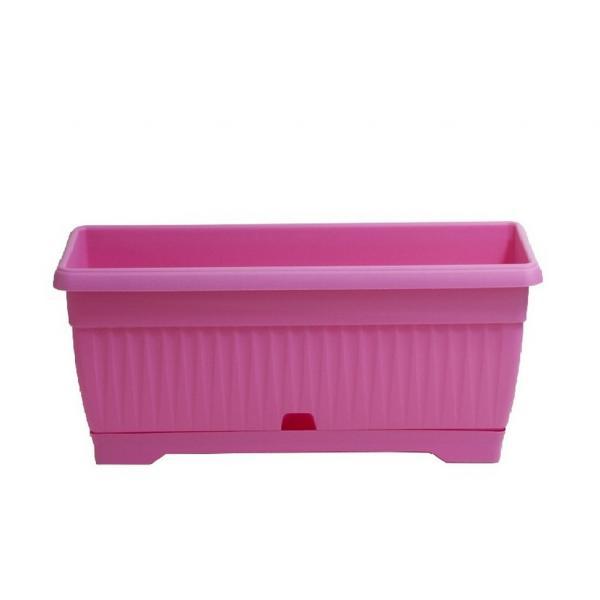 Сандъче Ребра с подложка ф30 см, розово