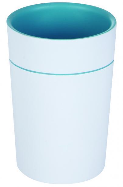 Чаша Sonja тюркоаз/бяла