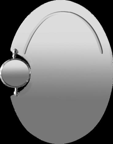 Огледало с вгрaдено козметично огледало