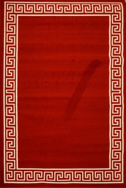 Килим Luna борд 1.6x2.25 м червен