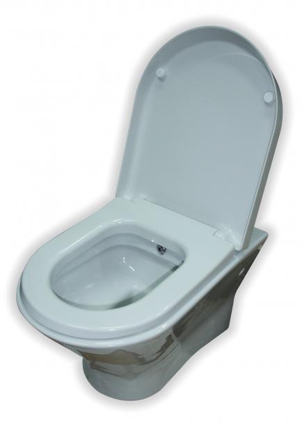 Висяща тоалетна чиния с функция биде NEXO A34664T000