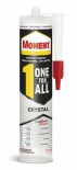 Монтажно лепило Moment OneForAll Flextec прозрачно 290 гр