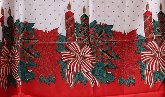Покривка Коледна лукс 150х220 3