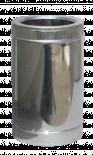 Двоен димоотвод Ф150-200 50 см