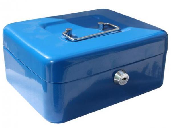Касета за пари синя 90x200x160 мм