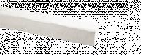 Декор. PU - греда В1212 / 2м / бяла