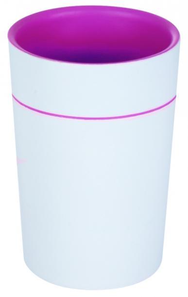 Чаша Sonja розова/бяла