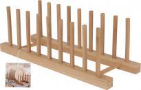 Бамбукова стойка за чинии