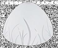 Пенделно стъкло ф260, h=130, Е27, бял мат