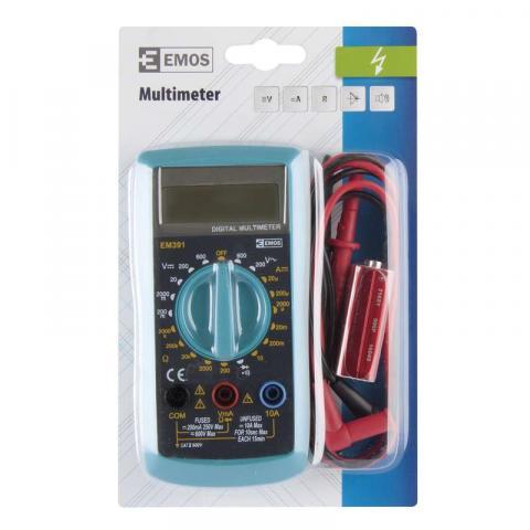 Мултиметър EМ391 EMOS 600V 2