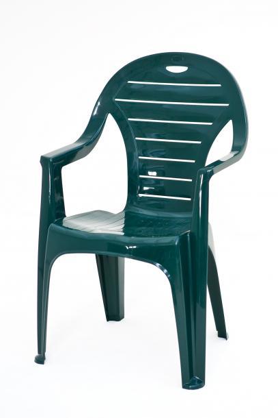 Стол Лилие зелен