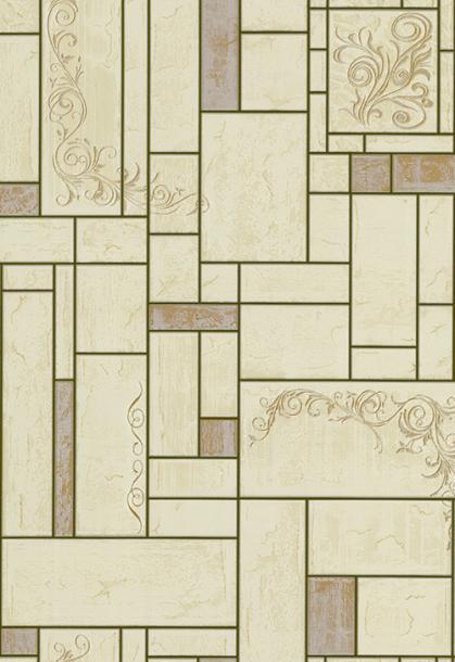 Тапет винил за баня и кухня Палитра 510-27 зелен.керамика