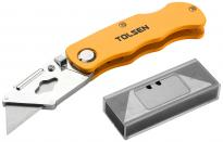 Нож макетен 18мм ABS Tolsen