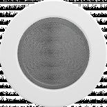 Решетка кръгла Ф125 бяла