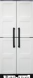 Шкаф PVC 680x370x1690мм Art