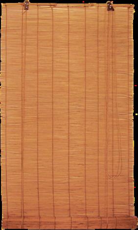 Бамбукови щори 50х140 см кафяв
