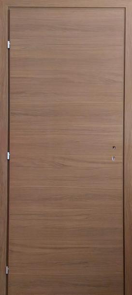 Врата Ясен Графит 80Х200 + каса 10см лява