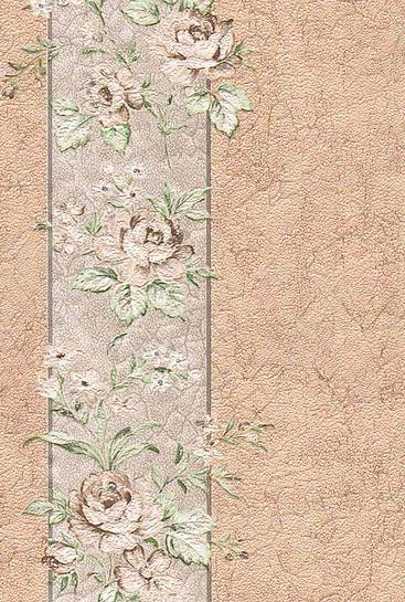 Тапет Бежови цветя Нона