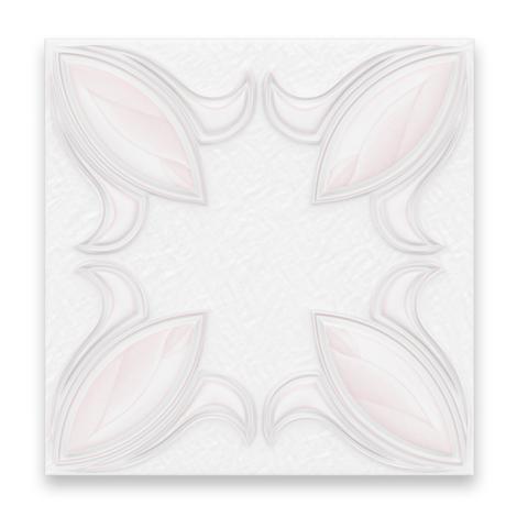 XPS Таванна плоча лале розово