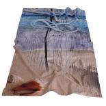Плажна кърпа-морски кей