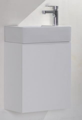 PVC шкаф с умивалник-45 см