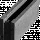 Блокче за зидане 50х20х25 см,сиво 2