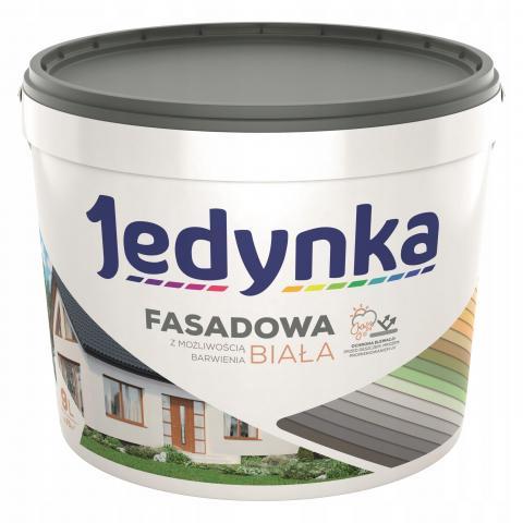 Акрилна боя за фасади и интериор - бяла/база 2.7л
