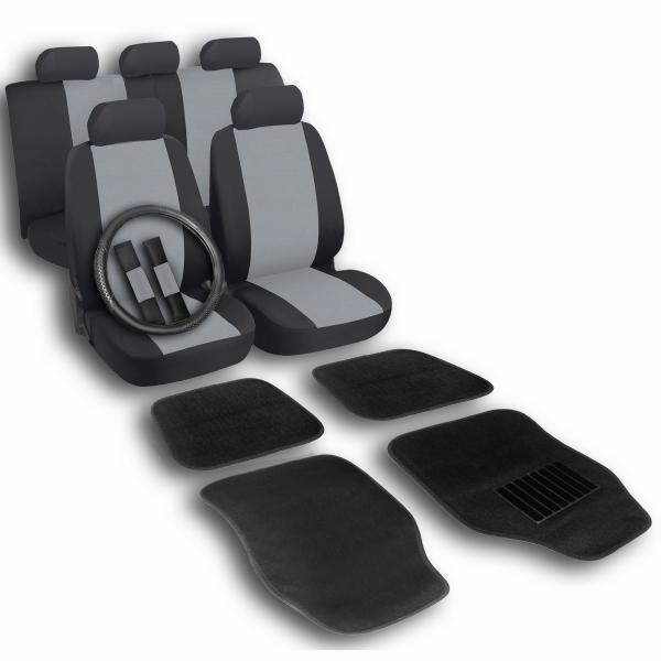Комплект калъфки за седалки, волан и стелки 16 бр.