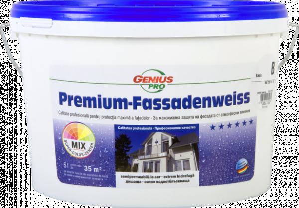 GP Premium Fassadenweiss 5L