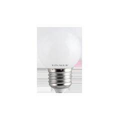 LED крушка G45 1W E27 студено бяла  60lm