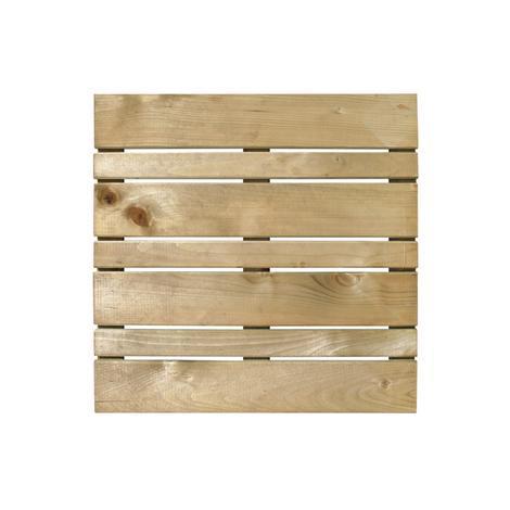 Дървена плочка Laura 50x50 см