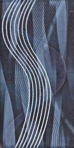 Декоративна плочка за баня Gemma blue 20x40 см
