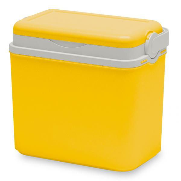 Хладилна кутия 10л, жълто